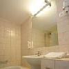 Hotel Aranyhomok a Kecskemet - bagno privato della camera superior