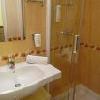 Stanza da bagno Standard all'Hotel Aranyhomok - hotel con centro benessere a Kecskemet