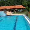 Piscina per nuotare all'Hotel Zichy Park - fine settimana di wellness a Bikacs