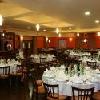 Ristorante elegante dell'Hotel Zichy Park - piatti tradizionali ungheresi al ristorante Borostyan a Bikacs